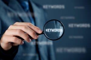 Mots et expression clés des pages web