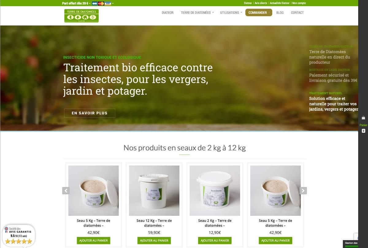 Refonte du site internet de l'agence Delourmel, maîtrise d'œuvre sur Rennes